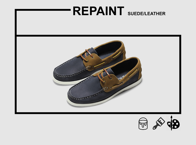 Repaint Suede / Leather